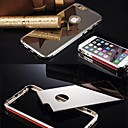 Buy Luxury Clear Mirror Metal Bumper Back Shell Hard Case Cover iPhone 6 Plus (Assorted Color)