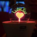 romantischen Feuerwerk Nachtlicht Blume LED-Lampe Kunstrasen Topfpflanzen Kinder Nachtbeleuchtung (gelegentliche Farbe)