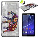 Buy Sony Case / Xperia Z3 Pattern Back Cover Elephant Hard PC SonySony Compact Z2