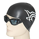 Youyou Unisex Waterproof Anti-Slip Ear Protection Hair Protection Swimming Cap