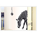 Fashion Environmental Removable Zebra Pattern PVC Wall Sticker