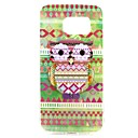 Little Cute Mr Owl TPU Back Case for Samsung Galaxy S6 Edge