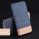 tampa da caixa - Design Especial/Novidades/Côr Misturada - Pele PU - Capas de Corpo Inteiro - para Sony Xperia Z3 dupla