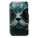 Kinston® Sunglass Cat Pattern PU Leather Full Body Cover with Stand for Huawei Honor 4X/Honor Che1-CL20
