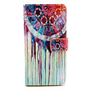 Buy Watercolor Pattern PU Leather Case Magnetic Snap Card Slot Wiko Rainbow