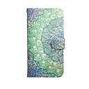 Mandala Flower Graphic Photo Frame Slot PU Leather TPU Full Body Bumper Cases with Stand for S4 Mini I9190