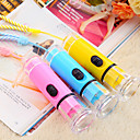 Fancy Design Colorful Plastic Mini LED Flash Light (Random Color)