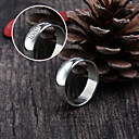 Rings - Personalizirano Nakit srebro , Nehrđajući čelik )