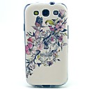 Butterfly Flower Pattern TPU Soft Case for S3 I9300