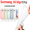 Through Color TPU Case for Samsung Galaxy S6 Edge