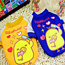 Dog T-Shirt - XXS / XS / S / M / L - Summer - Blue / Yellow - Cosplay - Cotton