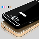 Metal Frame Acrylic Mirror Backplane Metal Hard Case for Samsung Galaxy Grand Prime G530 G5308 G5309