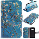 The Old Tree Flower Design PU Leather Stand Case with Card Slot for Samsung Galaxy CORE Prime G360/G3608