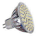 GU5.3 4W 60*SMD3528 300 LM 6000-6500 K Cool White MR16 Spot Lights DC 12 V