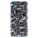 Cartoon Letters TPU Soft Case for iPhone 5C