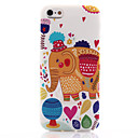 Buy Elephant Pattern TPU Soft Material Phone Case iPhone 5/5S