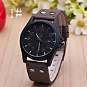 Men's  Watch New Casual Leather Calendar Belt Watch Cool Watch Unique Watch