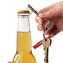 Key Shaped Metal Beer Bottle Opener Ring Key Chain Key Ring