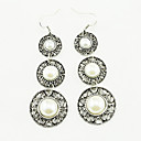 Buy KAILA Fashion Intersect Water-drop Shape Diamante Rhinestone Drop Earrings