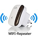 wifi router 802.11n / b / g interval expander 300Mbps signal boostere wifi repeater 110-240V 1a os / eu gratis forsendelse