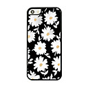 Little Daisy Leather Vein Pattern Hard Case for iPhone 5/5S