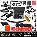 Gopro Accessories Set With Selfie Stick Monopod Floating Bobber Chest Head Strap For Go pro Hero12345 Xiaomi Yi