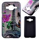 Buy Samsung Galaxy Case Pattern Back Cover Eiffel Tower PC Xcover 3 / J1 Core Prime Alpha Ace 4