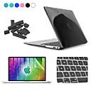 ENKAY 4 in 1 Crystal Hard Protective Case + Screen Protector + Keyboard Film + Anti-dust Plugs for MacBook Air 13.3 inch