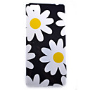 Buy Huawei Case / P8 Lite Pattern Back Cover Flower Soft TPU