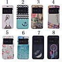 Buy iPhone 7 Plus 5.5 Inch Print Pattern PU Leather Case Stand 6S