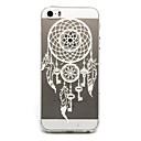 Buy Key Campanula Pattern TPU Cell Phone Soft Shell iPhone 5/5S