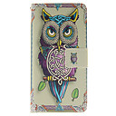 Buy Personality Owls Pattern PU Leather Phone Case Huawei P8 Lite
