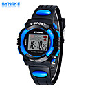 Buy SYNOKE Men's Round Dial Casual Watch PU Strap Electronic watch Fashion Wrist (Assorted Colors)
