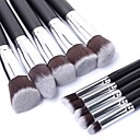 Buy Makeup Brush Set Cosmetic Foundation Blending Pencil Brushes Kabuki Professional