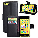 Buy Luxury PU Leather Flip Capa Case Apple iPhone 5C Wallet Phone Bag (Assorted Colors)