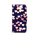 Buy Love Pattern PU Leather Full Body Case Card Slot Stand iPhone 5C