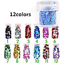 Buy 1Manicure Diamond Jewelry Accessories Sequins 12 Color Glitter Gradient Powder