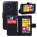 Buy Nokia Case Wallet / Card Holder Stand Full Body Solid Color Hard PU Leather Lumia 530