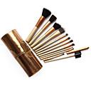 12 Conjuntos de pincel Escova de Nailom Profissional / Cobertura Total / Ecológico Madeira Rosto Outros