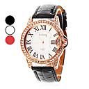 女性の腕時計のディアマンテローマ数字ダイヤル