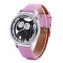 Buy Women's Cartoon Cat PU Band Quartz Watch Cool Watches Unique