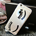 Buy Eyelashes Pattern TPU Transparent Soft Shell Phone Case Back Cover iPhone6 Plus