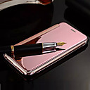Buy Deluxe Flip Mirror PU Leather PC Capa Para Fundas Mobile Phone Cover Case iPhone 5/5s(Assorted Colors)