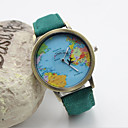 Buy Women's Fashion Personality Quartz Leather Analog Map Wrist Watch(Assorted Colors) Cool Watches Unique