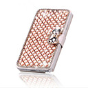 Buy Luxury Bling Crystal & Diamond Leather Flip Bag iPhone 5/5S (Assorted Colors)