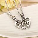 Buy Heart Best Friends Rhinestone Pendant Necklace(2pcs/set)