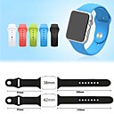 Buy Environmentally Friendly Silicone Material Strap iWatch 42 mm