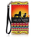 Buy Lanyard Lion Pattern PU Leather Material Phone Case Huawei P8 Lite