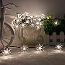 rey ro solar 26.24ft 60led loto fiesta de boda de lujo de la decoración de luz al aire libre luces de cadena a prueba de agua