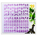 Buy Hot Nail Polish Sticker Manicure 3D Stickers Decals Phototherapy Glue Purple 4 Pet Carapace